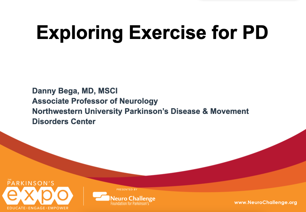 Exploring Exercise for PD